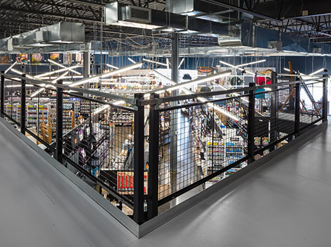 Mezzanine Handrails - Mezzanine Distributors