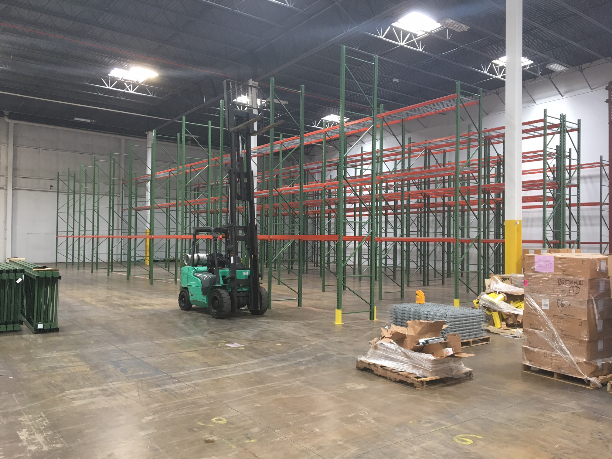Take advantage of a pallet racking system from Mezzanine Distributors