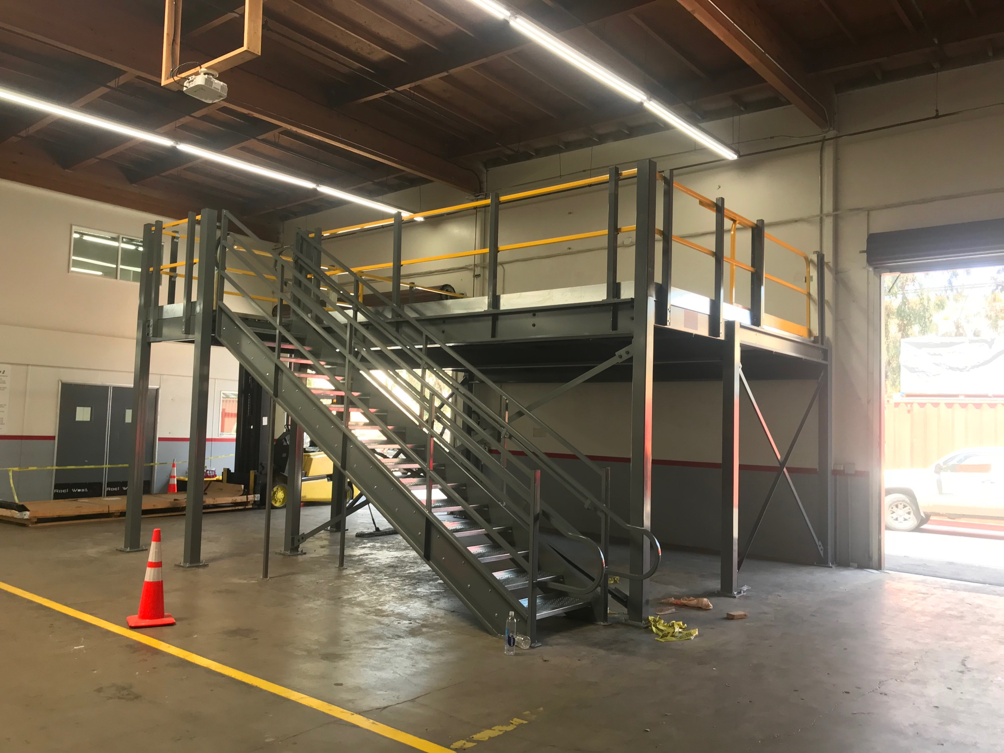 Rock West Composites Mezzanine Installation